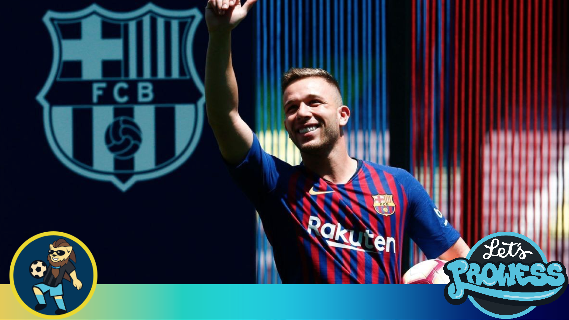 4c89e9497 Arthur Melo is the new hope for FC Barcelona to replace Xavi.